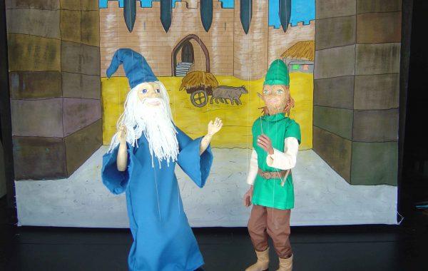 Robin Hood e Mago Merlino